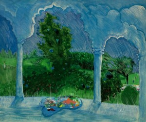 Patrick Procktor, Rain Paint, 1970