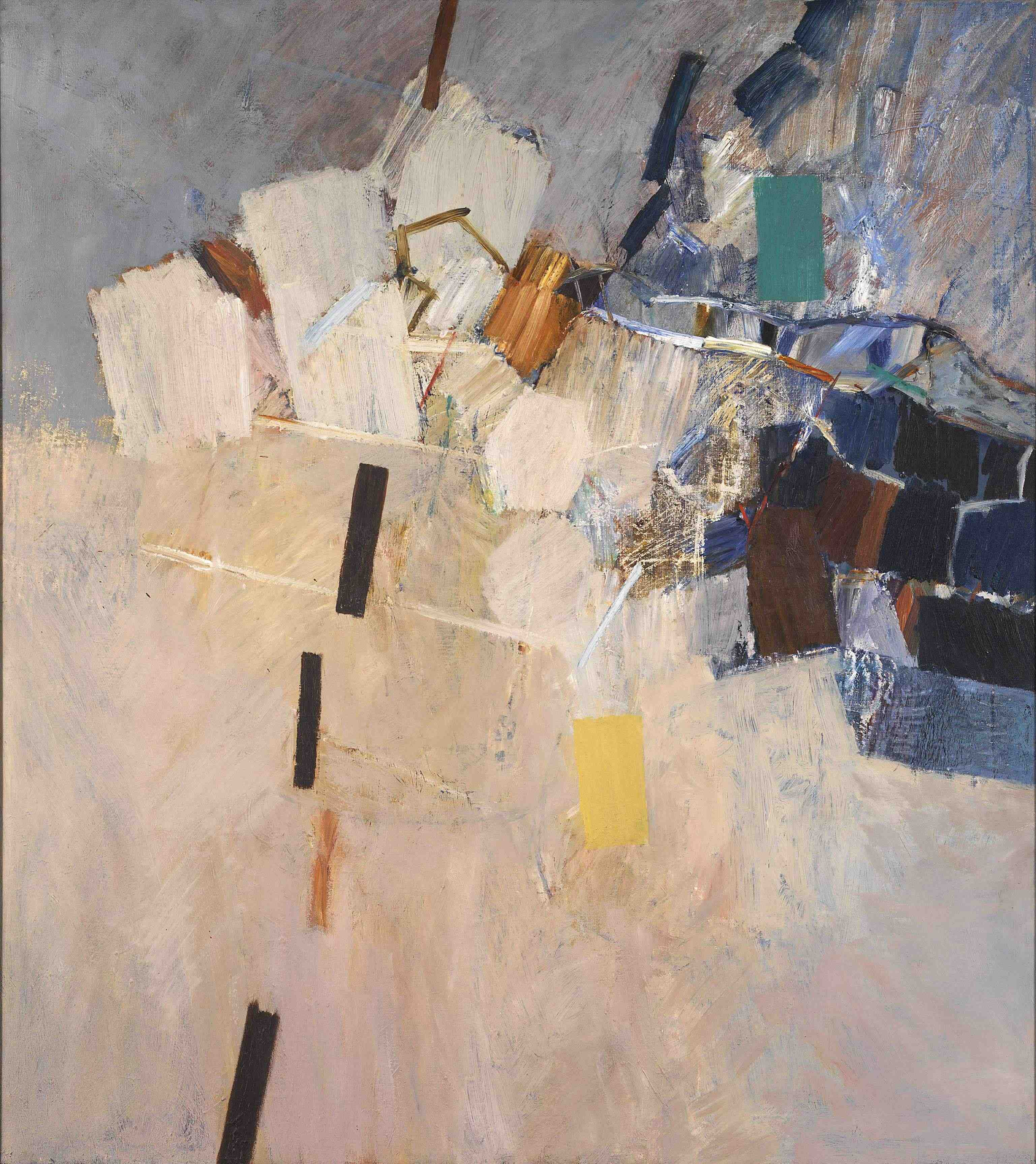 Keith Vaughan High Easter oil on canvas 1967