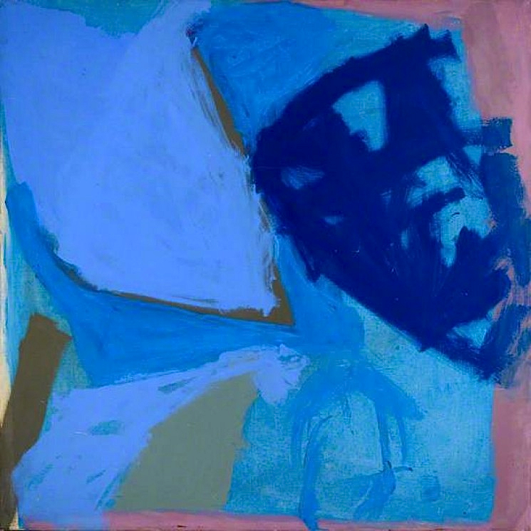 Trevor Bell, Image of Blues, 1960, oil on canvas