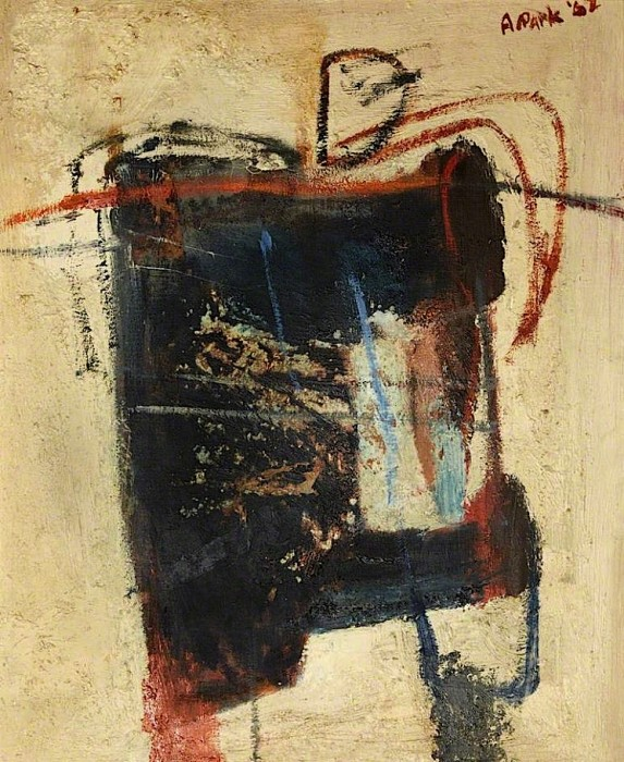 Alistair Park, Blue Little Man, 1962, oil on canvas