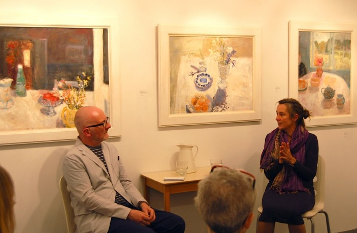 Ian Massey and Alice Mumford in conversation, Belgrave St Ives, 14 September 2015