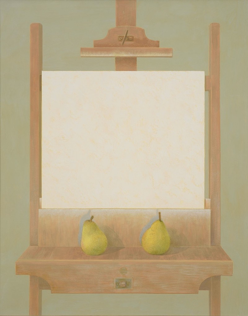 Pears on the Easel