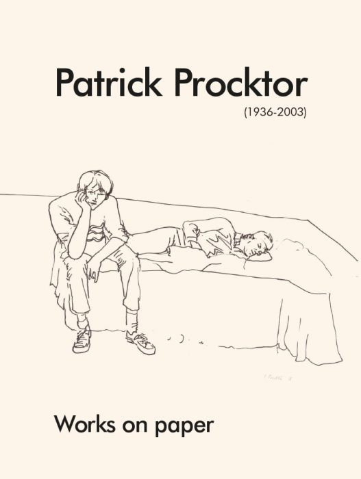 Patrick Procktor, 'Peter and Keith', ink on paper, 1966